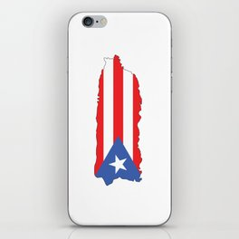 Puerto Rico Colors iPhone Skin