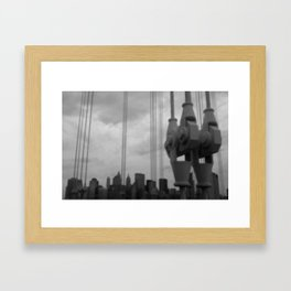 A view from Brooklyn Framed Art Print