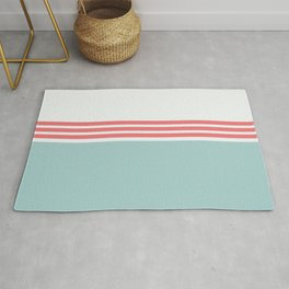 Modern Minimal Striped Blue 12 Rug