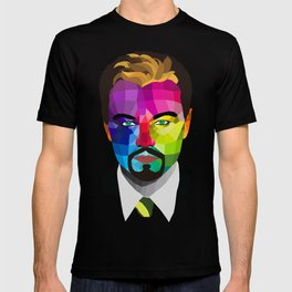 Leonardo DiCaprio - popart portrait T-shirt