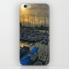 Sunset in Shoreline iPhone & iPod Skin