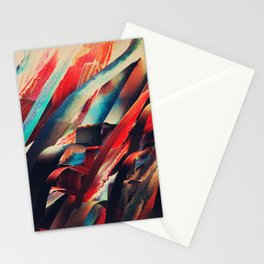 64 Watercolored Lines Stationery Cards