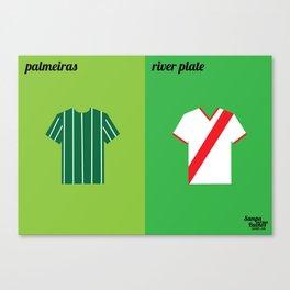 Palmeiras x River Plate Canvas Print