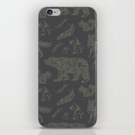 Shafted Woods iPhone Skin