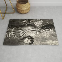 Han Solo carbonite Rug