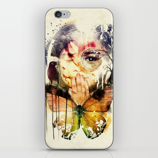 The Silence iPhone & iPod Skin