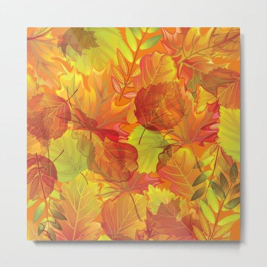 Autumn leaves #4 Metal Print