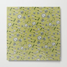 Springtime (yellow) Metal Print