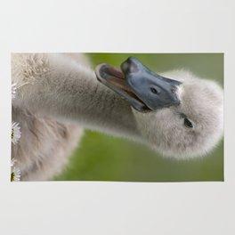 Happy Quacky Cygnet Rug