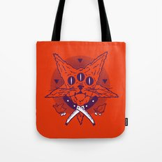 Hell Kitten Tote Bag
