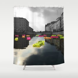 Mare Nostrum Shower Curtain
