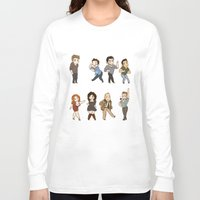 kendrawcandraw Long Sleeve T-shirts featuring Dance by kendrawcandraw