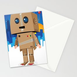 I'm gonna be a ROBOT! Stationery Cards