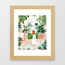 Peaceful Morocco II Framed Art Print