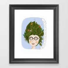 e.e cummings Framed Art Print