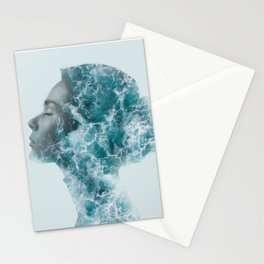 Ocean Lady Stationery Cards