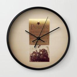 Collection de petits bonheurs Wall Clock