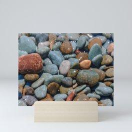 Pebble beach 3 Mini Art Print