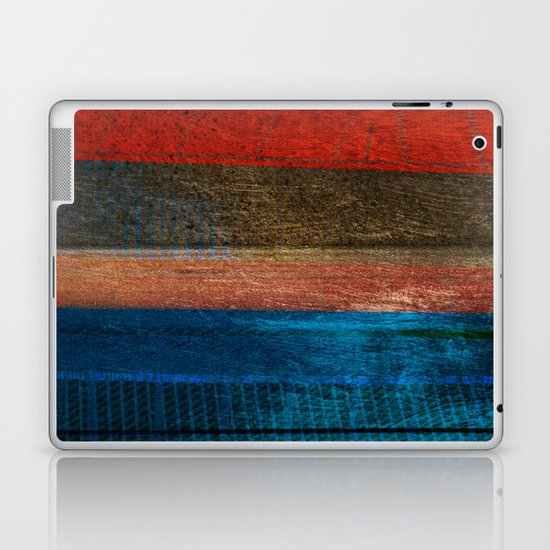 Chalked Filthy And Worn Laptop & iPad Skin