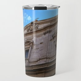 Upward Cross, Chiesa di San Luigi dei francesi Travel Mug