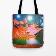 Irvine Lake Tote Bag