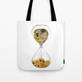 Hourglass of Love (Klimt) Tote Bag