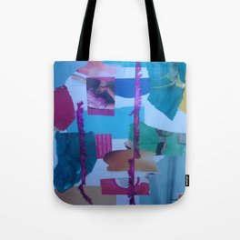//Collage// Tote Bag