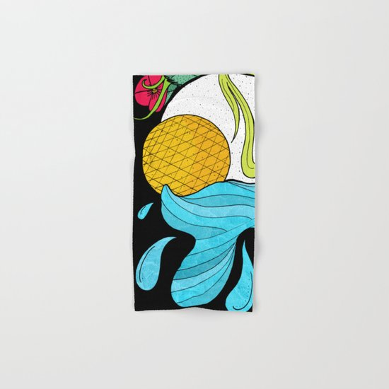 The Sun and Moon Hand & Bath Towel