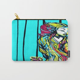 Lady Blue Deeply Rooted Carry-All Pouch