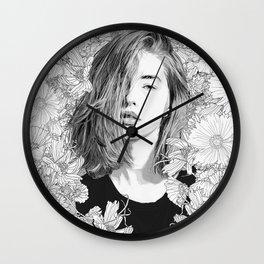 Garden Lounge Wall Clock