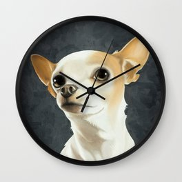 KC the Dog Wall Clock