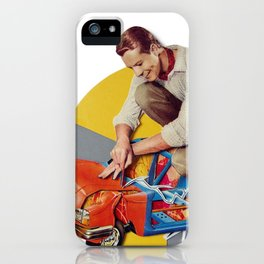 Mr Fixit   Collage iPhone Case