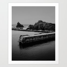 Sutro Baths Ruins Art Print