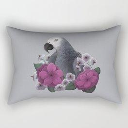 African Grey Rectangular Pillow