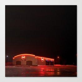 Late Night Eats Canvas Print