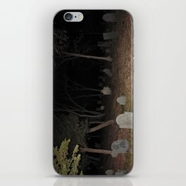 Cemetery Forest iPhone Skin
