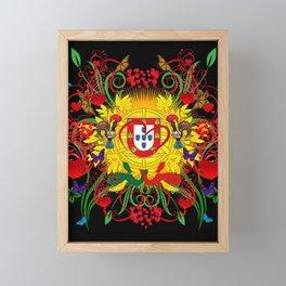 Galo de Barcelos, Portugal Framed Mini Art Print