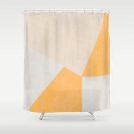 Yellow Contamination 6 Shower Curtain