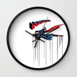 supertag Wall Clock