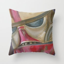 #ShayStrong Trooper Throw Pillow