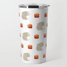Sharkbark's Burgers - Pattern Travel Mug