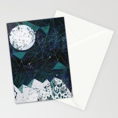 winter geometry Stationery Cards