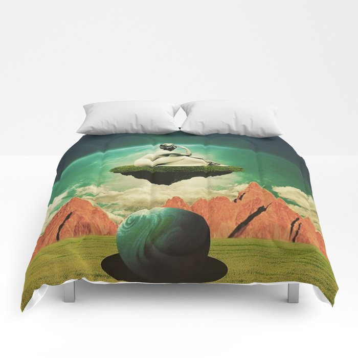 A Woman Needs Her Space Comforters
