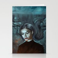 lorde Stationery Cards featuring LORDE MAGNETS by Brian Foott