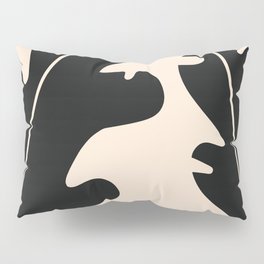 Abstract tropical leaves Pillow Sham