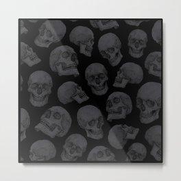 Skulls Metal Print