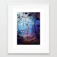 disco Framed Art Prints featuring Disco by Azot