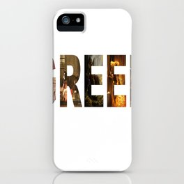 Greed iPhone Case