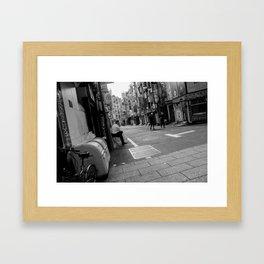 nightlife in the daylight Framed Art Print