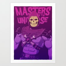Masters of the Universe - Skeletor Art Print